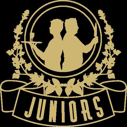 Juniors Logo - Gold