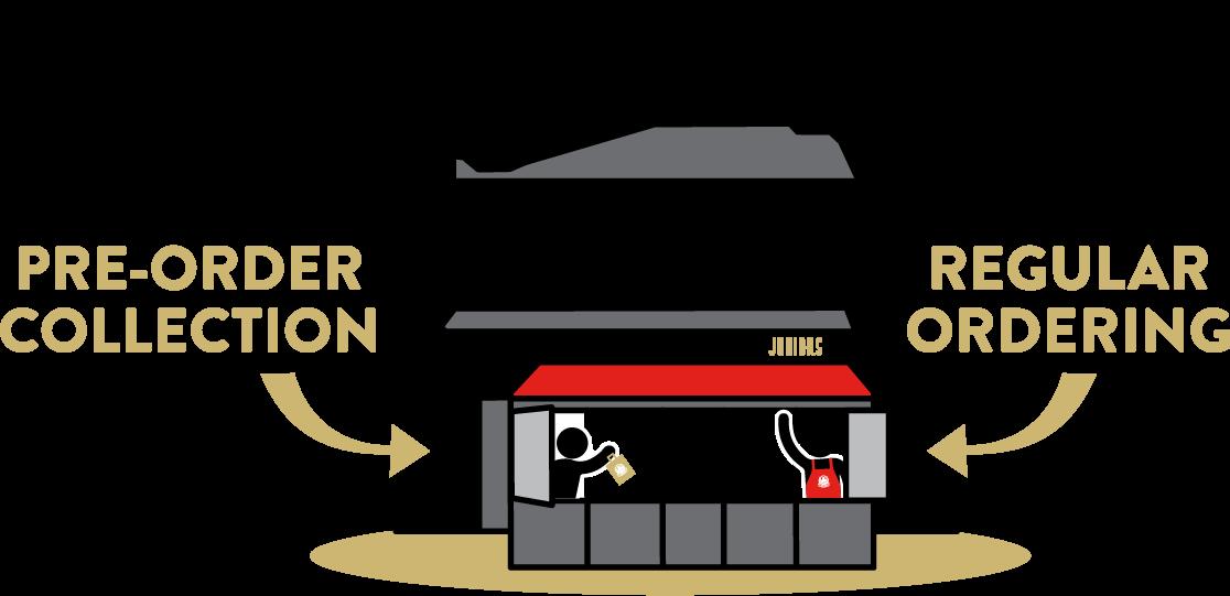 Illustration of Juniors Deli & Cafe